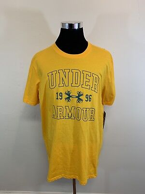 445c4a006 Under Armour Men's Antler Short Sleeve Hunting T-Shirt Yellow Size XL