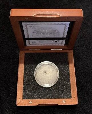 2016 Niue Solar System Mercury with NWA8409 Meteorite 1oz Silver Coin