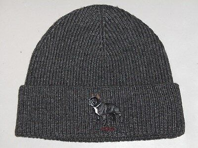 c6660da1392 HEATHER GRAY KNIT Skull Winter Ski Warm Baggy Grey Beanie Beanies ...