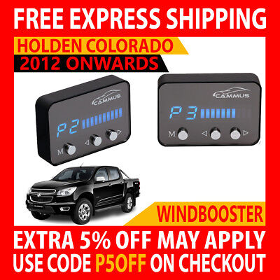 Windbooster 4 Mode Throttle Controller To Suit Holden Colorado Rg 2012 Onwards