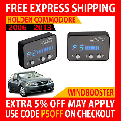 Windbooster 4 Mode Throttle Controller To Suit Holden Commodore Ve 2006 - 2013