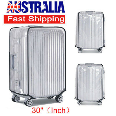 30 Inch PVC Transparent Luggage Protect Suitcase Cover Bag Waterproof Dustproof