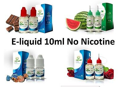 10ml E-liquid Vape Juice Zero Nicotine No Nicotine E-cigarette Refill 0mg 50/50