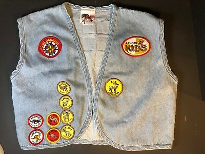 Royal Rangers, Ranger Kids Vest with 26 Patches ~ Youth Large