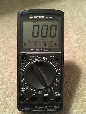 BOSCH Professional Multimeter-FIX 7677