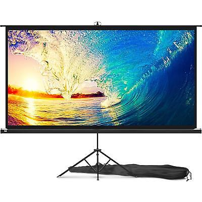 Portable Projector Screen, 100 inch Outdoor Indoor Projection Screen for Movies