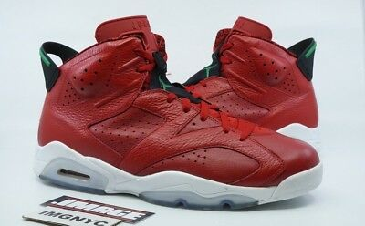 abcf7a6312e Air Jordan Vi 6 Retro Used Size 14 Spiz Ike Varsity Red Green White 694091  625