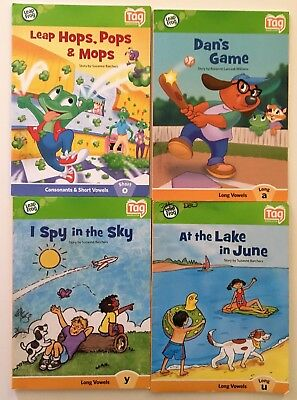 Leap Frog Tag Reader Interactive Books Lot of 4