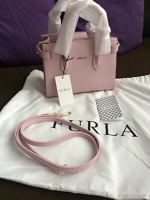 FURLA PIN MINI TOTE CAMELIA 100%auth.NWT.Amazing Pin and nice color ... be9a883b208cb