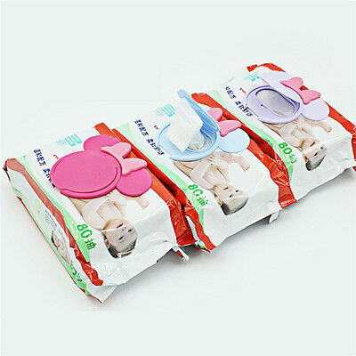Dry&Wet Tissue Paper Case Wipes Napkin Care Baby Storage Box Holder Container SU
