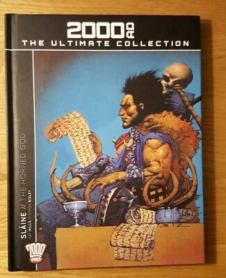 2000AD The Ultimate Collection Slaine The Horned God hardback graphic novel (32)