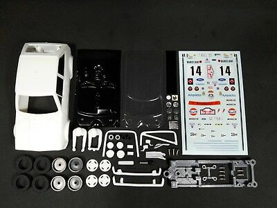 Kit de resina Ford Fiesta XR2 Grupo2 1:32 Rally Montecarlo 1982 Slot Car Resin