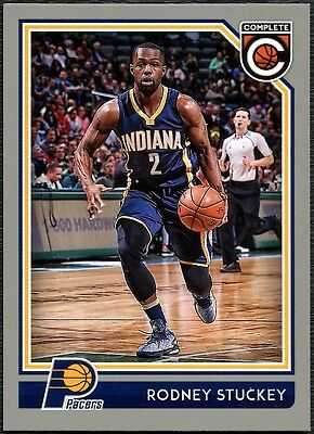 Rodney Stuckey - Pacers #243 Complete Basketball 2016 Silver Parallel Card C2287