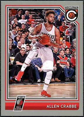 Allen Crabbe - Trail Blazers #361 Complete Basketball Silver Parallel Card C2287