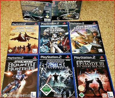 PS2/PSX/PS3 STAR WARS:Battlefront,REBEL,Unleashed,CLONE,HUNTER,SITH Wählbar