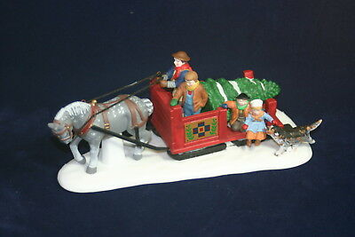 OVER THE RIVER AND THROUGH THE WOOD The Heritage Collection Department 56  w/box
