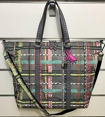 e2c491a8ab VERA BRADLEY SMALL Midtown Tote in City Plaid -  49.99
