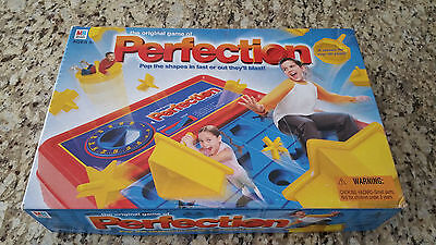 The Game of Perfection Board Game #01 - 2003 Milton Bradley - Collector!