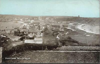 Hugh Town, Isles of Scilly - 'Dainty' series postcard c.1910s