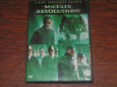 The Matrix Revolutions (DVD, 2004, 2-Disc Set) WS