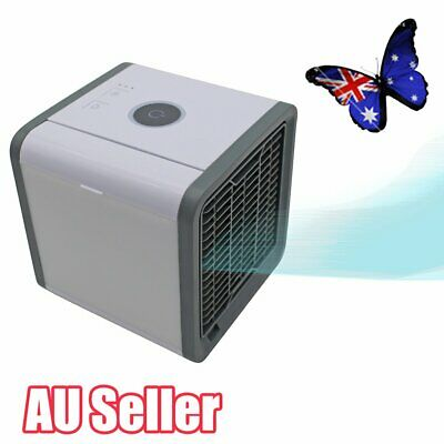 Portable Mini Air Conditioner Cool Cooling For Bedroom Arctic Air Cooler Fan JO