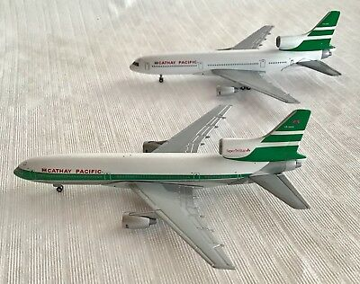 STARJETS 1:500 CATHAY PACIFIC Set of Two (2) L-1011 Tristars