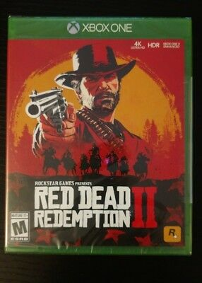 Brand New Sealed Red Dead Redemption 2 - Xbox one