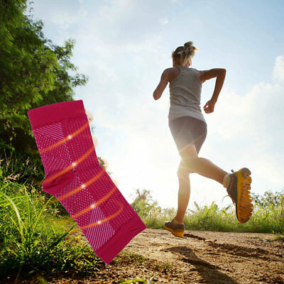 Outdoor Sport Anti Fatigue Angel Circulation Compression Foot Sleeve Sock HT