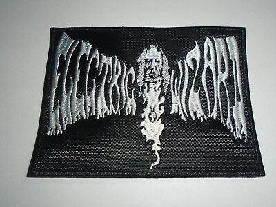 Electric Wizard Embroidered Patch