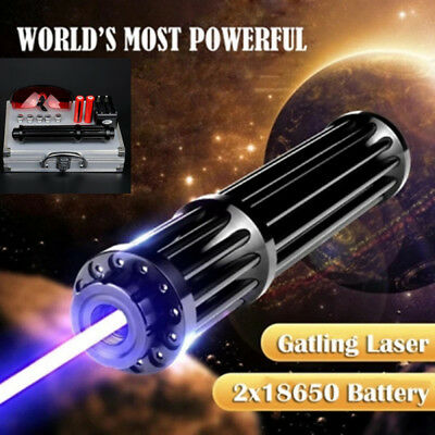 Extremely High Power Laser Pointer Pen set - Visible 450NM Blue Laser Beam  AU