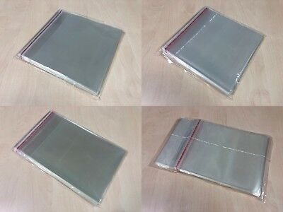 Fundas Estuches CD DVD BluRay Solapa Cierre Adhesivo Reutilizable 50 100 1000