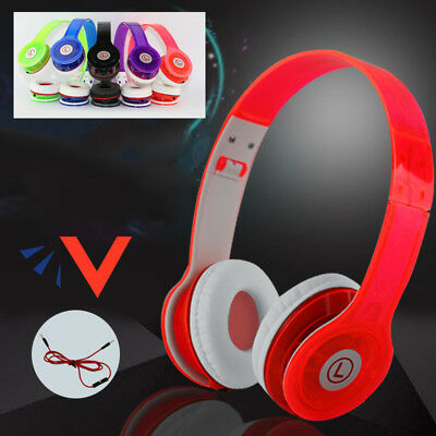 1x Overhead Stereo Headset Adultes Enfants Casque Audio pour Samsung Iphone Ipad