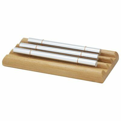 1PC Wooden Percussion Three Bar Chime Percussion 3 Toner Musical Instruments W0