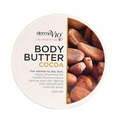Naturally Rich Body Butter 220ml - Vegan Friendly - Cocoa Body Butter