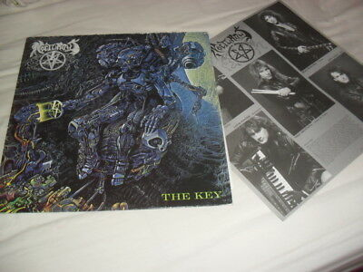 Nocturnus -The Key- Very Hard To Find Lp First Press 1990 England Collectors