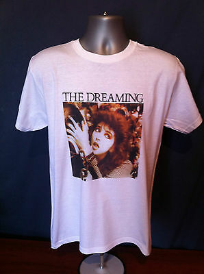 KATE BUSH VINTAGE STYLE T-SHIRT Dreaming Hounds Love Kick Inside