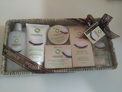 Set de belleza Organica Cononut Oil Bath Care del IDC Institute