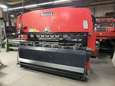 Amada Rg100 Nc9-Ex Hydraulic Press Brake - 110 Ton Us -Year 1984, Refurb 2008