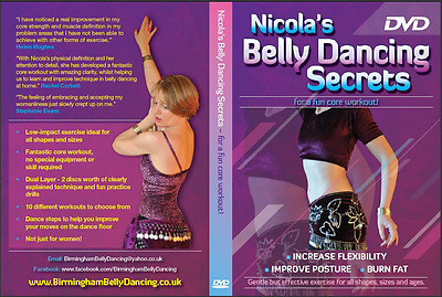 Dance Fitness - low impact - lose weight with Belly Dancing - New | Sealed | DVD