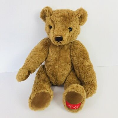 Hamleys Albert Plush Toy Bear Heritage Collection London Jointed 15""