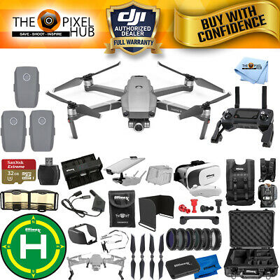 DJI Mavic 2 Zoom 3 Battery PRO Accessory Bundle with Aluminum Case + MUCH MORE