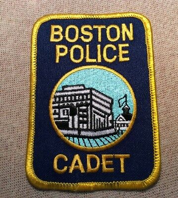 MA Boston Massachusetts Cadet Police Patch