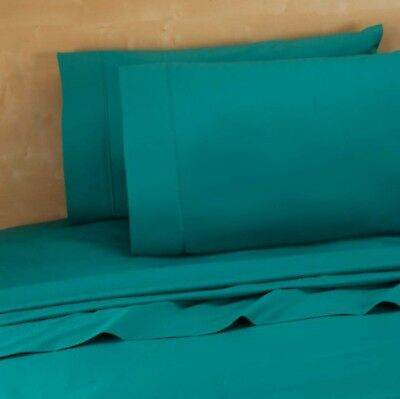 Bed Bath & Beyond 220 Thread Count 100% Cotton King Pillowcases in Teal (Set ...
