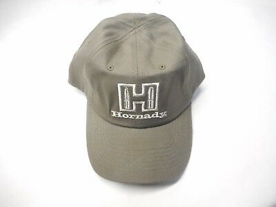 adc643f0535 NEW Hornady Ammunition Hat Cap OD   Olive Green Adjustable Embroidered FREE  SHIP