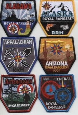 Royal Rangers History Patch Set Fundraiser for Camp Eagle Rock (61 patches)