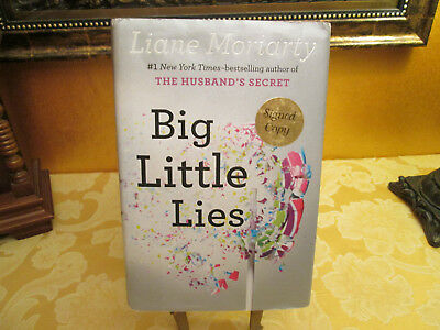 Big Little Lies by Liane Moriarty. SIGNED 1st Edition / First Printing Hardcover