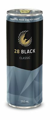 28 Black Classic Energy Drink 250mL Other Drinks Can case of 24