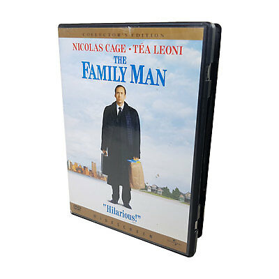 The Family Man DVD Special Edition Widescreen R1 (2001) Nicolas Cage TESTED