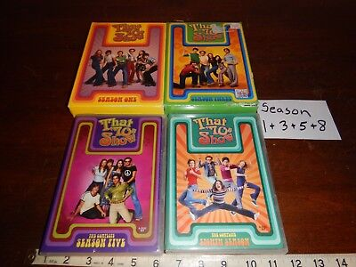 That 70s Show Complete Series TV season Lot of 4 seaons 1,3,5 & 8