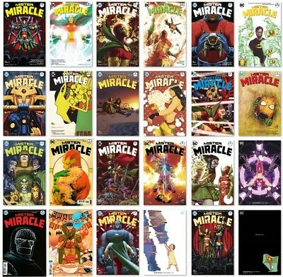 MISTER MIRACLE (2017) mini-series - Issues #1-12 - NM - DC Comics